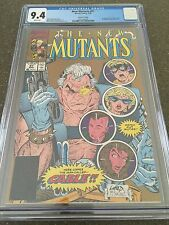 New Mutants #87 CGC 9.4 NM 1st Appearance Cable 3/90 2nd Print Gold Cover!!