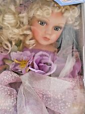 Cathay Collection Box Porcelain Doll Fairy Limited Edition Wings Vintage Angel