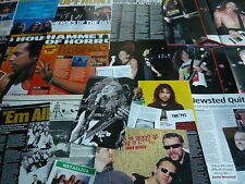 METALLICA - MAGAZINE POSTER/CUTTINGS COLLECTION (REF 3F)