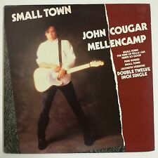 "John Cougar Mellencamp Small Town Maxisingle 12"" X 2 UK 1986 Gatefold"