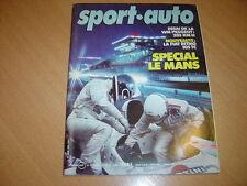 Sport Auto N°233 Fiat Ritmo 105 TC.WM Peugeot.Tour de Corse