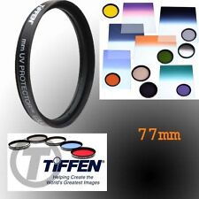Tiffen 77MM UV Lens Protector Filter for Canon EOS 6D 7D 50D 60D 70D 5D Mark III