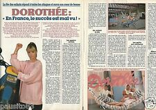 Coupure de presse Clipping 1988 Dorothée  (2 pages)