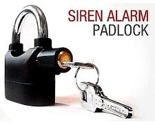 Security Alarm Siren High Sound Burglar Pad Lock