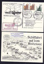 55692) SPAN AIR FF Friedrichshafen - Alicante Spanien 22.3.02, Zudruck GA Schiff