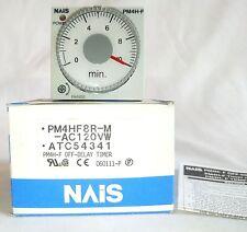 MATSUSHITA PM4HF8R-M-AC120V TIME DELAY RELAY 0-10MIN 3A 250V
