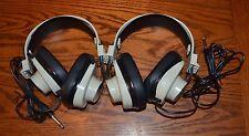 CALIFONE 2924AV EE Beige Over the Ear Mono Headphones ~ Set of 2
