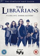 The Librarians - The Complete First Season Series 1 [DVD] 2016 Box Set NEW REG 2