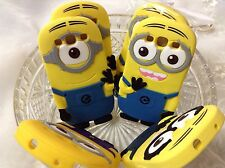 3D Minion lovely cartoon soft rubber phone case cover SAMSUNG GALAXY S3 i9300 /