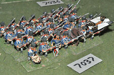 25mm napoleonic prussian infantry 32 figures (7037) metal painted