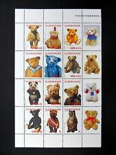 SURINAME 2004 Teddy Bears Set of 12 with Labels U/M FP9572