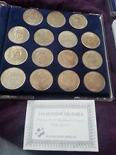 FC Barcelona SILVER coin set RARE Ronaldo Guardiola 76.5 gramm fine silver