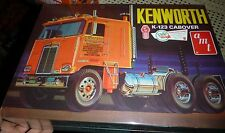 AMT Kenworth K-123 Cabover Truck 687 Model Car Mountain KIT 1/25 FS