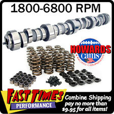 "HOWARD'S Chevy GM LS LS1 274/280 609""/604"" 112° Cam Camshaft & Spring Kit LS2"