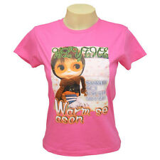 Cartoon Anime Manga Ladies Womens Tokyo Cartoon Photo Design T-Shirt UK 8-12