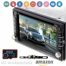 "Auto Gear Camera GPS System 1080P Car DVD Player 6.2"" HD Touch Radio Bluetooth"