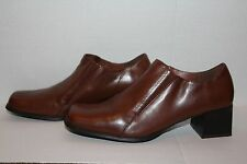 Spring Step Brown Ankle Boots, Size 7.5