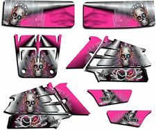 YAMAHA BANSHEE GRAPHICS WRAP DECAL STICKER KIT TURBO CHARGED PINK