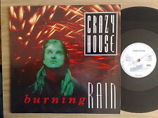 "CRAZY HOUSE - BURNING RAIN - 45 GIRI MAXI-SINGLE 12"" GERMAN PRESS"