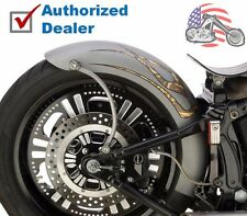 "Lucky Sucker Twin Cam Softail 200mm Tire 9"" Wide Rigid Style Bobber Rear Fender"