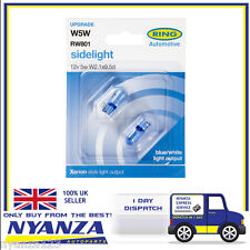 RW801 Blue Xenon Sidelight Bulb X 2 Ring Automotive Upgrade Pair 501 Car Van