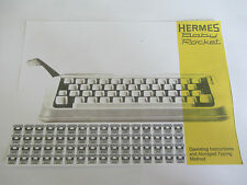 'HERMES BABY/ROCKET TYPEWRITER *PHOTOCOPY OF AN ORIGINAL INSTRUCTION BOOKLET*
