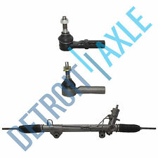 Complete PS Rack and Pinion + 2 Outer Tie Rod Ends for Dodge Dakota - 4x4 ONLY