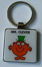 Mr Men & Little Miss.  Mr. Clever Keyring BNIP