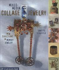 MIXED-MEDIA COLLAGE JEWELRY by Schuster Soft Cover Book New in Shrink Wrap BK184