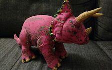 """16"""" Dinosaur Applause Plush Stuffed Animal Pink Cute Vintage"""
