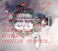 1967 80 YOUR 4300/D MOTORCRAFT CARB RESTD FORD MUSTANG