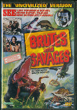 Brutes and Savages (Synapse DVD, 2003) - Brand New & Sealed