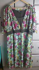 Igigi by Yuliya Raquel Womens Dress Plus Size 22/24 3X Semi Sheer Made in USA
