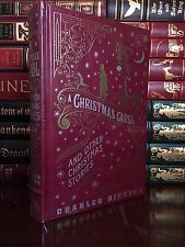 Christmas Carol & Other Stories by Charles Dickens New Sealed Leather Bound