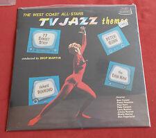 TV JAZZ THEMES  THE WEST COAST ALL STARS LP SPAIN FRESHSOUND MINT