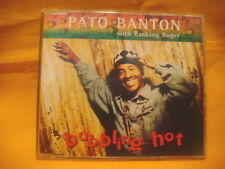 MAXI Single CD PATO BANTON WITH RANKING ROGER Bubbling Hot 4TR 1994 reggae dub
