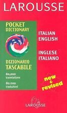 Larousse Pocket Dictionary: Italian-English/English-Italian Larousse Bilingual