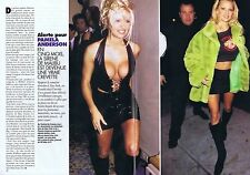 Coupure de presse Clipping 1997 Pamela Anderson  (2 pages)