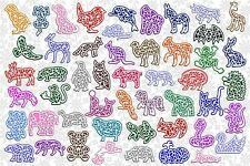 Brother ScanNCut Filigree Animal topper & mat templates CD1047