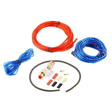 1500W 8GA Car Audio Subwoofer Amplifier AMP Wiring Fuse Holder Wire Cable Kit OH