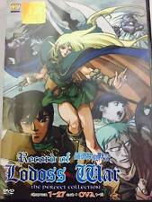 DVD Record Of Lodoss War The Perfect Collection ( Vol. 1-27 end ) + Ova