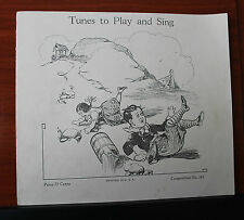 1936 Tunes to Play and Sing - Piano Vocal sheet music Bye Bye Bunting,Mulberry