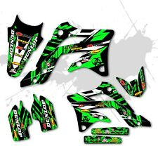 2009 2010 2012 KXF 250 GRAPHICS KIT KAWASAKI KX250F MOTOCROSS DIRT BIKE DECALS
