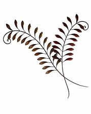 Large Metal Fern Leaves Wall Art Decor Picture Hanging 75 cm high