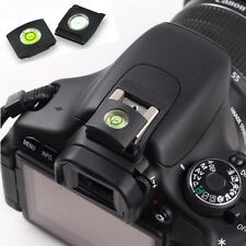 2pcs Hot Shoe Bubble Spirit Level Cover Protector Cover Cap for Canon Nikon Sony