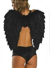 COSTUME DE ANGEL WINGS BLACK COSTUMES CARNIVAL HALLOWEEN SIZE ONLY (81250-2)