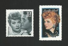 I Love Lucy Classic TV Lucille Ball Desi Arnaz Hollywood Legend Stamp Set MINT!
