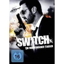 SWITCH-EIN MÖRDERISCHER TAUSCH (KARINE VANASSE/ERIC CANTONA/+) DVD NEU