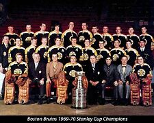 BOSTON BRUINS 1969-70 STANLEY CUP CHAMPIONS NHL HOCKEY 8X10 TEAM PHOTO