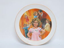 """Shirley Temple 10"""" Vintage Collector Plates- """"Curly Top"""""""